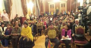 Asamblea de la Paceñidad confirma paro cívico por el 21F con puntos de bloqueo y acopio para damnificados