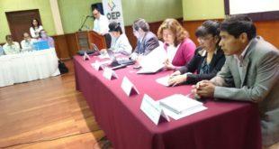 Inicia el encuentro nacional del Órgano Electoral en Tarija