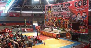 Organizaciones de la COB afines al MAS deciden desconocer a Guido Mitma