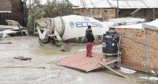 El número de familias afectadas por las lluvias en el país asciende a 14.900