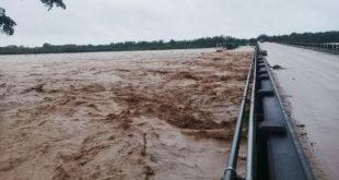 Senamhi declara alerta naranja por la crecida de ríos en seis departamentos