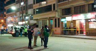 Investigan hallazgo de explosivo en un alojamiento frente a la terminal de Oruro