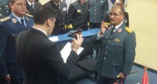 Ministro de Defensa posesiona al nuevo secretario General del COSDEP