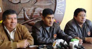 Mitma se retira de COB, dice que el Gobierno ha ganado con imposición