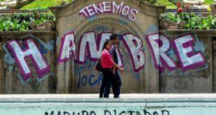 Más de la mitad de los venezolanos bajó 11 kilos en el 2017