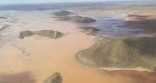 Lago Poopó duplica su caudal tras secarse por cambio climático