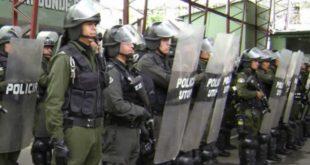 Policía se acuartela por las movilizaciones del 21F y alista operativos de desbloqueo