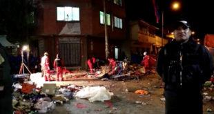 Niño de 10 años víctima de segunda explosión en Oruro perdió la vista