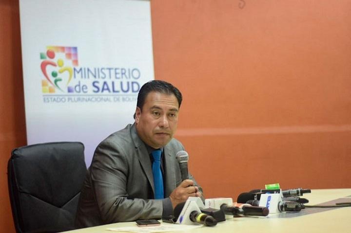 Resultado de imagen para oruro ministerio de Salud, Rodolfo Rocabado