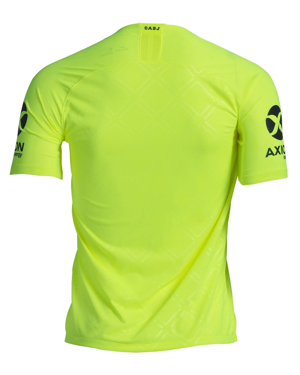 La nueva flúo cuesta  2899 o  2499 pesos de acuerdo a si se trata de la  camiseta de juego o para hinchas. d43a7d4e285a8