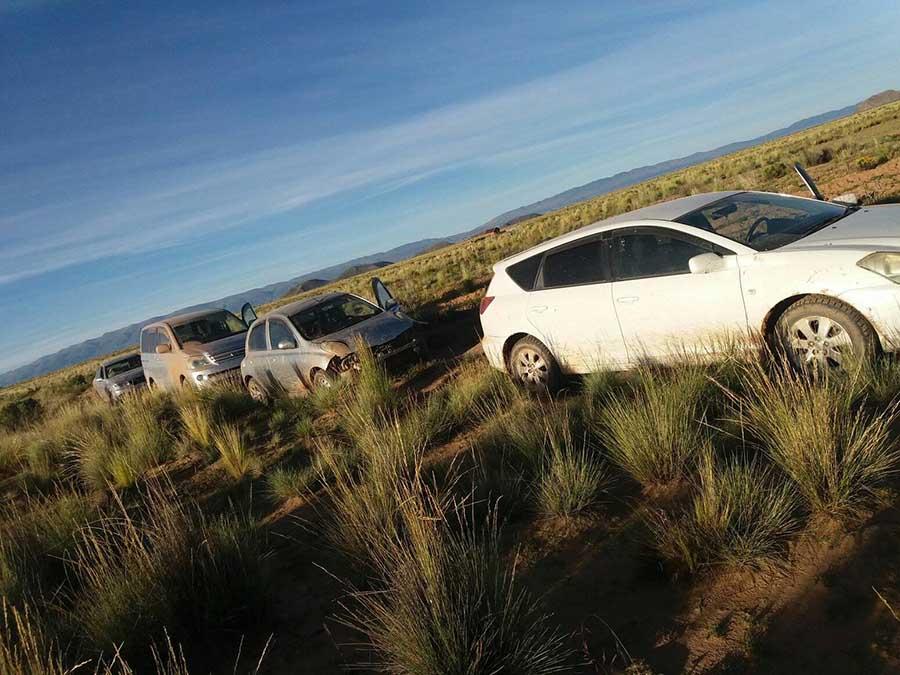 Potosí: Pampa Colorada es la nueva meca de los autos chutos – El Chaco  Informa